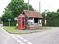 Bus shelter, Woodgreen - geograph.org.uk - 885013.jpg