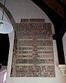 Bush End, Essex, England ~ St John Evangelist interior ~ bible text chancel arch south.jpg