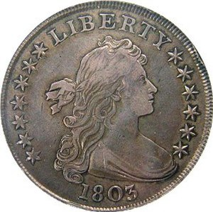 Draped Bust - Draped Bust dollar obverse