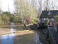 Buttercrambe Mill and weir - geograph.org.uk - 1568308.jpg