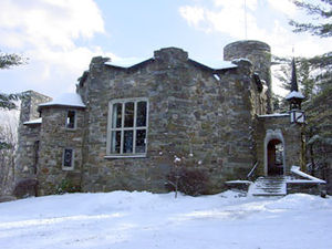 T. E. Breitenbach - The octagonal portion of the castle