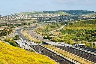 hill range in California