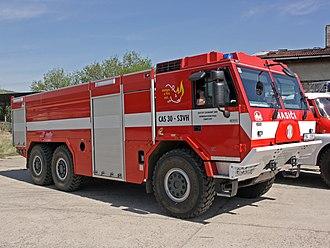 Law enforcement in the Czech Republic - Image: CAS 30 Tatra 815 7 TMB 2012