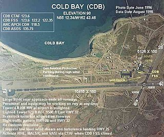 Cold Bay Airport airport