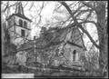 CH-NB - Agiez, Église, vue partielle extérieure - Collection Max van Berchem - EAD-7187.tif
