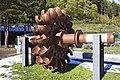 CH Capdella, Turbina Pelton exposició.jpg