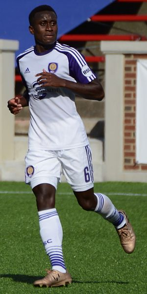 Richie Laryea - Laryea playing for Orlando City B in 2017