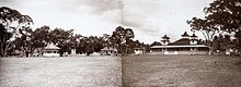 Alun-alun kota Cianjur pada tahun 1920-an