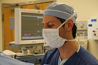 Surgical mask Oro-nasal cover worn by health professionals to reduce spread of airborne pathogens