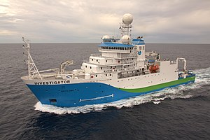 RV Investigator - Image: CSIRO Science Image 2363 RV Investigator side view