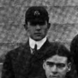 Westley Abbott - Abbott pictured in the 1901 Virginia football team photo