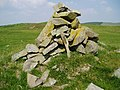 Cairn on Ardoch Hill. - geograph.org.uk - 512407.jpg