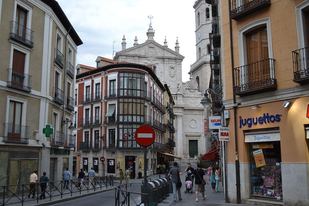 Calle Regalado y Catedral de Valladolid - Encuentro en Valladolid julio de 2012 (148).JPG