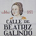 Calle de Beatriz Galindo (Madrid) 01.jpg