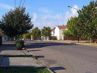 General Pico City in La Pampa, Argentina