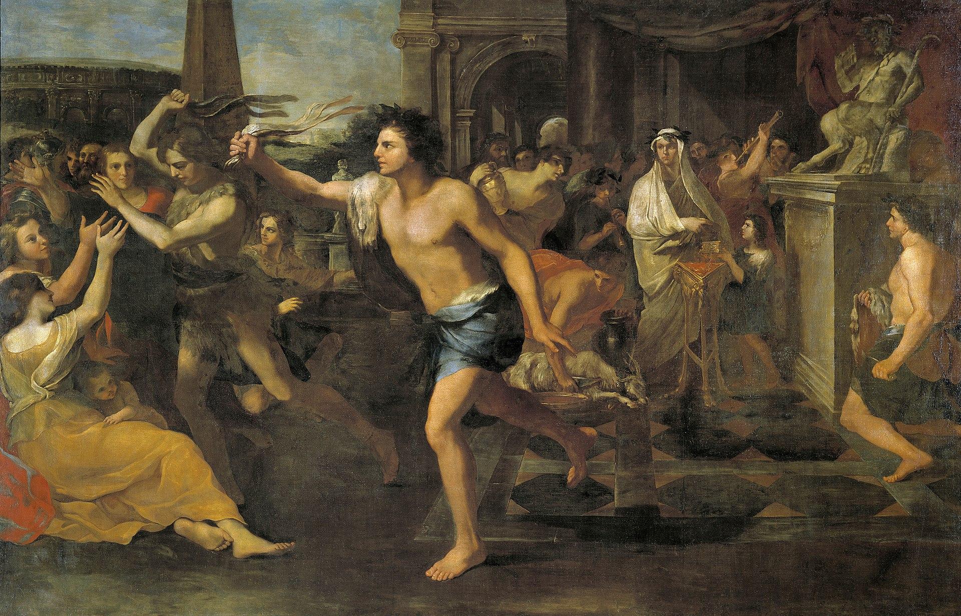 Andrea Camassei, Les Lupercales (vers 1635), Madrid, musée du Prado.