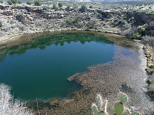 Sinagua - Image: Camp Verde Montezuma Well 1