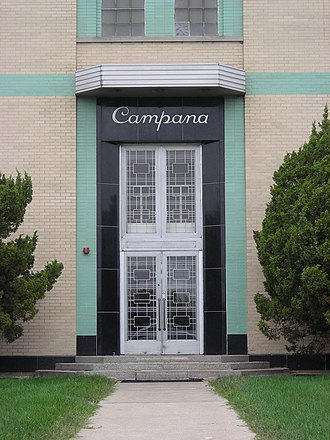 Campana Factory - The entrance to the Campana factory.