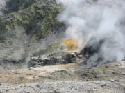 Sulfur at the Solfatara crater