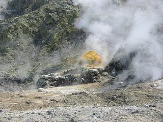 Solfatara (volcano) mountain