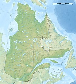 1732 Montreal earthquake is located in Quebec