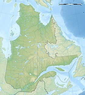 Canada Quebec relief location map-conic proj.jpg