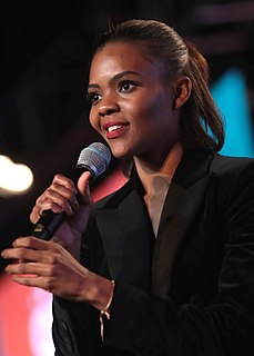 Candace Owens American conservative commentator and political activist