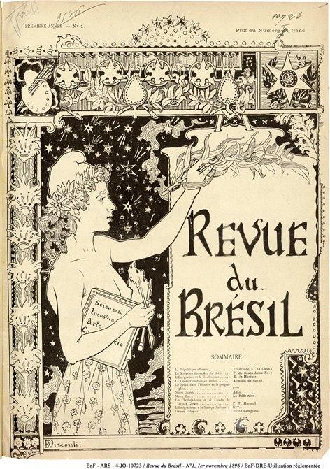 Capa para a Revue du Bresil - 1896