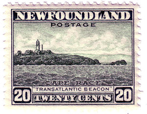 Cape Race - Postage stamp (1947) of Cape Race, Newfoundland