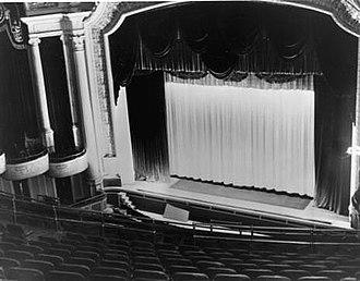 Capitol Cinema (Ottawa) - The Capitol Cinema auditorium in 1943