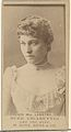 Card Number 570, Mrs. Langtry, from the Actors and Actresses series (N145-7) issued by Duke Sons & Co. to promote Duke Cigarettes MET DP840445.jpg