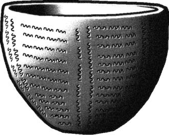 Ifri Oudadane - An example of Cardium pottery or Cardial ware, present at Ifri Oudadane.
