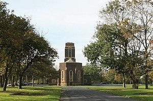 Carleton Crematorium and Cemetery - Image: Carleton Crematorium geograph.org.uk 1534202