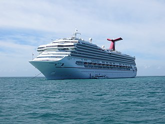 Conquest-class cruise ship - Image: Carnival Glory in Belize, 12 2014