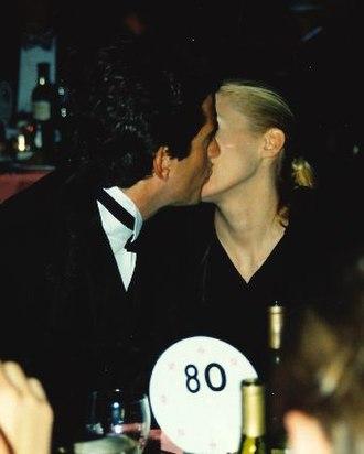 John F. Kennedy Jr. - Carolyn and John Kennedy at the White House Correspondents' Dinner, 1999