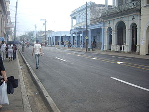 "Pinar del Río - The central avenue ""Carrer José Martí"""