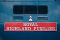 Carried with pride- 'Royal Highland Fusilier' nameplate - panoramio.jpg