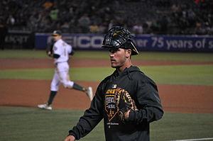 Carson Blair - Blair with the Oakland Athletics