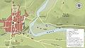 Carte Lourdes et environs vers 1858.jpg