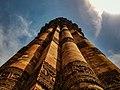 Carvings on Qtub Minar.jpg