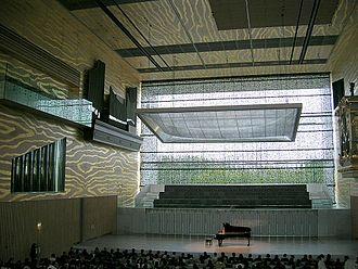 Inside Outside (Petra Blaisse) - Interior view, Casa da Musica