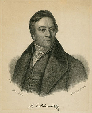 Casimir von Blumenthal - Casimir von Blumenthal, lithograph by Heinrich Bodmer
