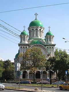 church building in Bucharest, Romania