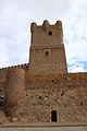 Castillo de Villena barbacana y torre SO (1).JPG
