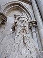 Cathédrale de Rouen - statue du roi David (tête).jpg