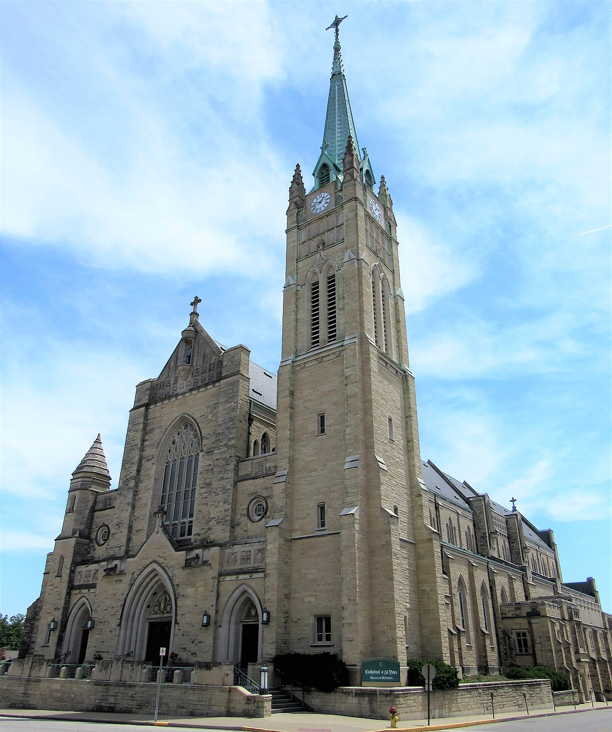 Cathedral of Saint Peter (Belleville, Illinois) - Wikipedia