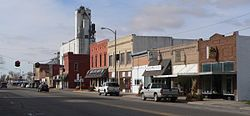 Central City, Nebraska G St from B Ave.JPG