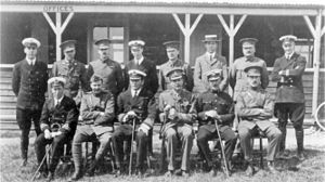 RAF Upavon - Central Flying School staff taken at Upavon, January 1913