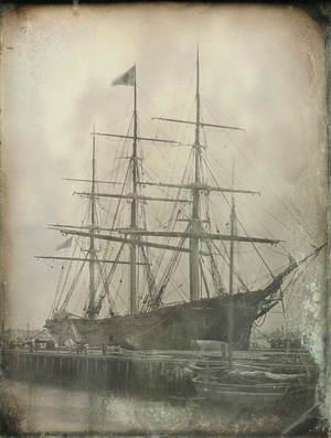 Champion of the Seas. Photo by Southworth & Hawes ca.1854.
