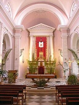 Chania - Katholische Kirche - Innenraum